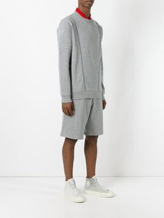 Givenchy piped trim detail sweatshirt