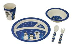Bamboo Studio Kids 5 Piece dinner sets make a great gift idea! Shop all styles now at shopbamboostudio.com