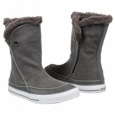 Athletics Converse Women's All Star Beverly Boot Charcoal Shoes.com
