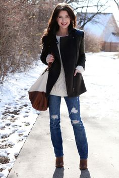 the daybook - I NEED that sweater. Too bad it's from Zara and it probably costs and arm and a leg