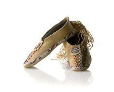 Kiowa Beadwork Designs | American Indian Art > .Southern Plains > Clothing & Footwear
