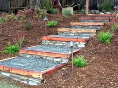 Advice, tactics, including manual with regard to getting the most ideal outcome and making the max use of Outdoor Landscaping Ideas Front Yard Landscaping On A Hill, Landscaping With Rocks, Backyard Landscaping, Landscaping Ideas, Hydrangea Landscaping, Sloped Backyard, Sloped Garden, Backyard Patio, Patio Ideas