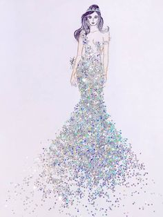 When Fashion Meets Glitters