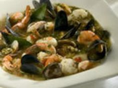 """This is a wonderful dish to make for special occasions, as it is pricey to make, but so worth it.  You can use any combo of seafoods to make this classic seafood stew with a little bit of everything from the sea. Shrimp, scallops, clams, mussels, and crab meat; seasoned with oregano, thyme and basil. Serve with a loaf of warm, crusty bread for sopping up the delicious broth!"""