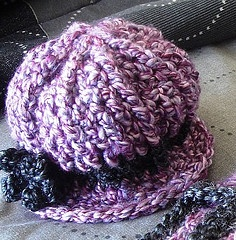 Free Crochet Baby Derby Hat Pattern.