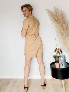 Kaile Jumpsuit – mAke Sustainable Clothes, Dresses For Work, Shirt Dress, Shirts, Fashion, Moda, Shirtdress, Fashion Styles, Dress Shirts