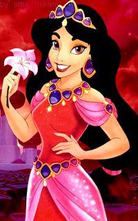 Flower is with me. Walt Disney, Disney Couples, Disney Girls, Disney Love, Disney Magic, Disney Princesse Jasmine, Disney Jasmine, Aladdin And Jasmine, Princess Jasmine