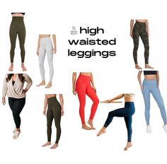 Click the link to get yourself a pair like right now!! Barre Clothes, You Look Pretty, Workout Gear, Pairs, Leggings, Link, Shopping, Fashion, Moda