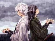 Gintoki and Katzura