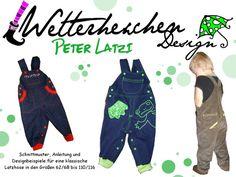 Nähanleitungen Baby - Peter Latzi - Latzhose - Ebook /Anleitung - ein Designerstück von Wetterhexchens_Welt bei DaWanda