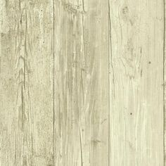 Wide Wooden Planks Wallpaper in Off White by York Wallcoverings ($40) ❤ liked on Polyvore featuring home, home decor, wallpaper, wood plank wallpaper, wood grain wallpaper, wood wallpaper, wooden plank wallpaper and wooden home decor