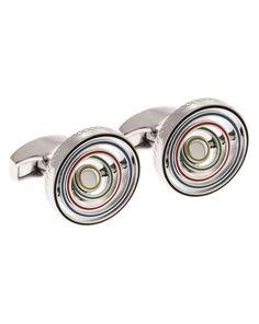 Gemelli swivelling sports rings  ad Euro 149.00 in #Tateossian #Accessori gioielli gemelli