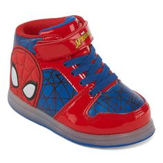Baby & Toddler Clothing Inventive Light Up Boys Baby Toddler Spider Web Canvas Flat Sneaker Shoes Black Blue Gray