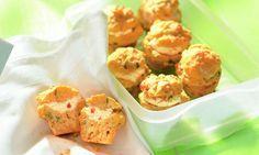 Kleine Feta-Muffins Rezept | Dr. Oetker