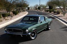 Steve McQueen 1968 Ford Mustang Fastback