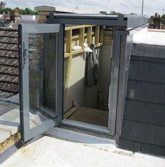 Lift Top roof access hatch