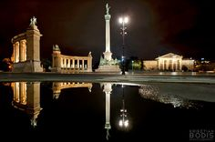 Hungary, Budapest, Heroes' Square
