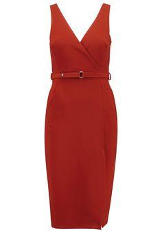 Dorothy Perkins Etuikleid red Bekleidung bei Zalando.de | Material Oberstoff: 78% Polyester, 15% Viskose, 7% Elasthan | Bekleidung jetzt versandkostenfrei bei Zalando.de bestellen!