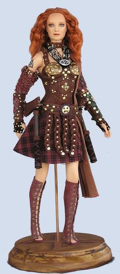 Image detail for -gwyn tier ooak dolls by valkyrie amazon queen