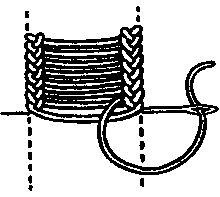 LOOPED STITCH: vocabulary 3: Ladder stitch by Mrs. A. Christie London 1920