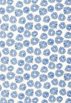 blue flower #pattern