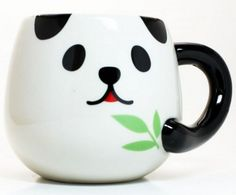 Panda Mug – Kawaii Kitchenette Stuff
