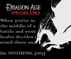 Dragon Age Problems