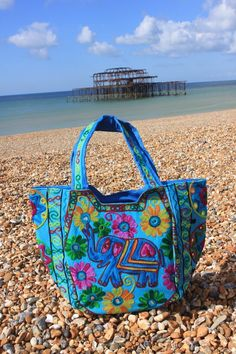 Boho Tote Banjara Indian bag Gipsy Indie Handbag Bohemian embroidery