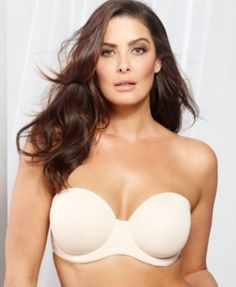Super comfortable and doesn't look like a strapless when i wear it. Fits like an actual bra. Gotta wait till it goes on sale though. $60. Geesh. Wacoal Red Carpet Full Figure Strapless Bra 854119. 34D