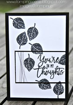 Independent UK Stampin' Up!® Demonstrator seller of paper craft supplies shares tips and ideas : Stampin Up Thoughtful Branches for The Grand…