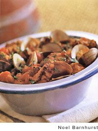 Portuguese pork with clams