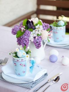 ❥ Easter table