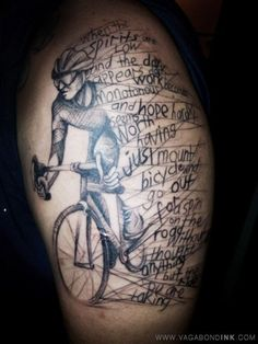 bicycle tattoo (7)