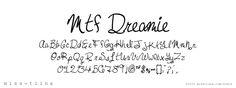 {FREE} Miss Tina Font: mtf_dreamie