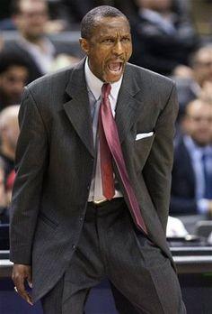 1c858b8830a Toronto Raptors head coach Dwane Casey reacts during the second half of an  NBA basketball game