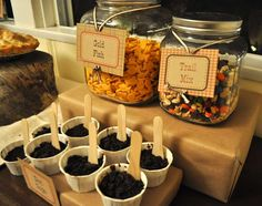 Camping/Woodsy Baby Shower Party Ideas | Photo 1 of 13 | Catch My Party