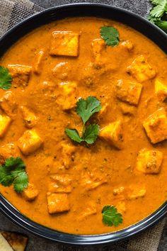 Vegetarian Recipes Videos, Vegetarian Snacks, Veg Recipes, Spicy Recipes, Curry Recipes, Indian Food Recipes, Cooking Recipes, Easy Paneer Recipes, Indian Paneer Recipes
