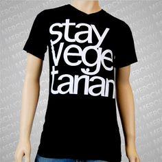 fc7b5345ce17c Stay Vegetarian Black     MerchNOW - Your Favorite Band Merch