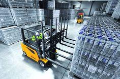 """Carretilla Eléctrica """"6 Forks"""" Alto Rendimiento logística, almacén y formación  ESI almacenalia.es"""