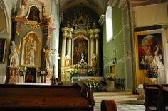 Beskid Śląski - Skoczów - ołtarz w Kościele katolickim p.w. Św. Piotra i Pawła / Silesia Beskid - Skoczów - altar in the church of the Catholic Church. St. Peter and Paul , Poland