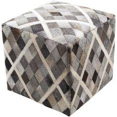 Surya Lycaon Cube Pouf - Animal - LCPF-004