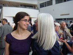 Judith Bookbinder white silver hair