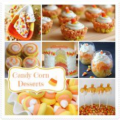 10 Easy Candy Corn Desserts