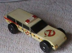 "Cool Vintage Pinewood Derby Car - ""Vintagish""."