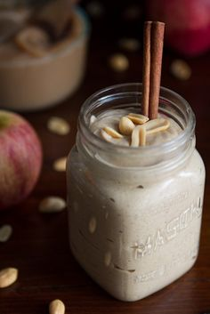 2-Minute Apple Cinnamon Peanut Butter