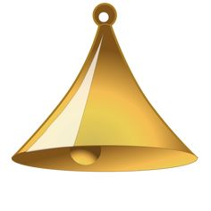 Simple bell Clipart Large Size