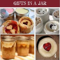 Homemade gifts in a jar is an easy and inexpensive way to make homemade gifts!  Simply layer the ingredients for any of these recipes in a jar, add a ribbon and a tag, and you have a simple but stylish gift.  Voila!  Here are 48 homemade gifts in a jar complete with recipes and lots of pictures so you can make them at home for your friends and family.