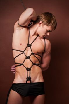 Gay rope bondage