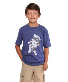 Boy's Skateboarding Astronaut T-shirt | 8 oz. mid-weight jersey, 100% cotton combed yarn | Proudly Made in Canada | #ChrisHadfield #Astronaut #Skateboarding #Space #Tshirt