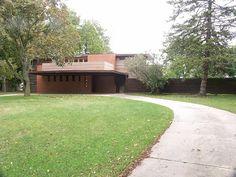 Bernard Schwartz house, Two Rivers, Wisconsin. Usonian Style. Frank Lloyd Wright. 1939